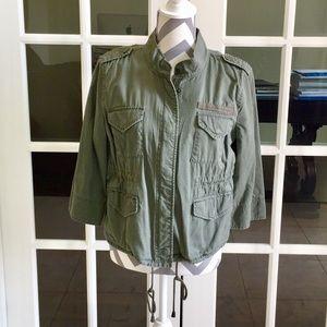 Calvin Klein Jeans Green Army Jacket